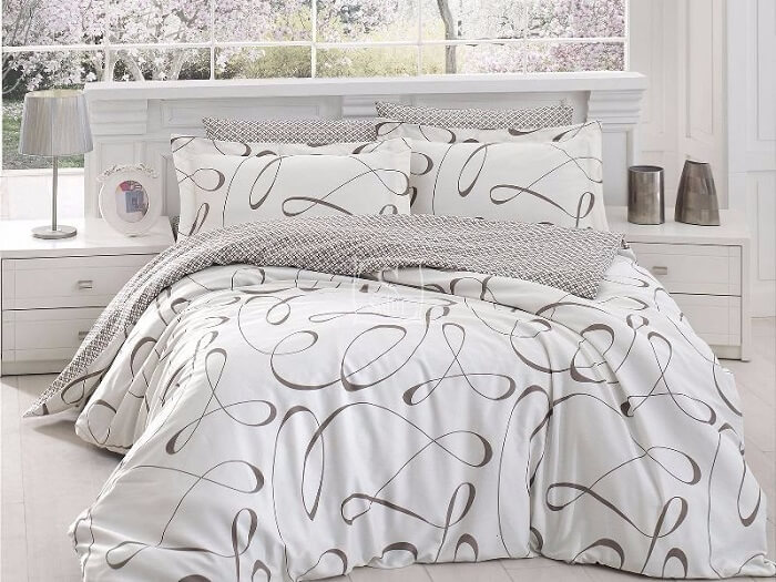 מסודר כיסוי מיטה למיטת יחיד - b textil YX-62